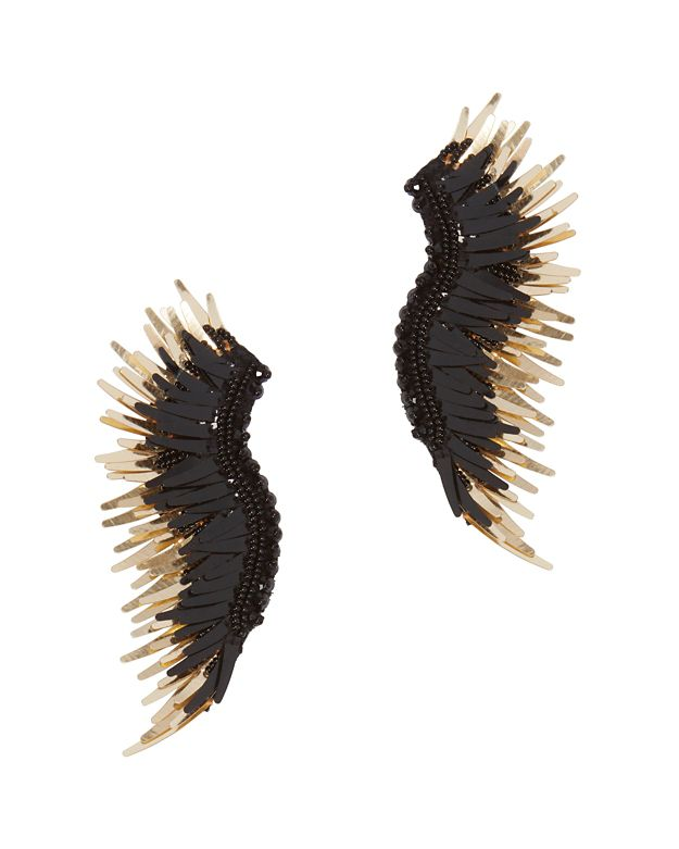 Mignonne Gavigan Black Madeline Earrings