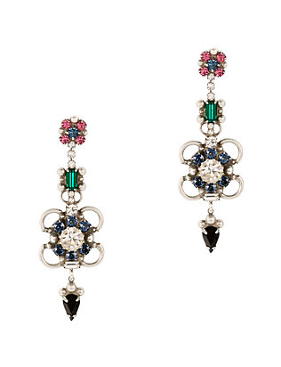 Ellyn Crystal Drop Earrings