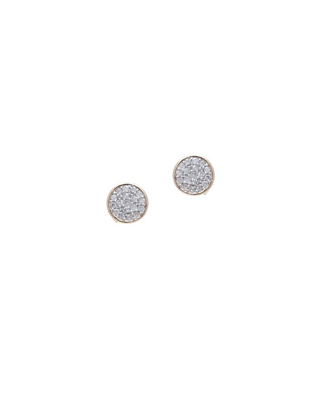 Adina Reyter Pave Diamond Disc Earring