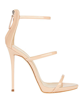 Coline Blush Strappy Sandals