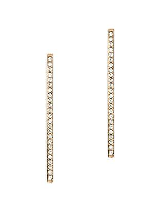 Paige Novick Short Stick Pave Earrings