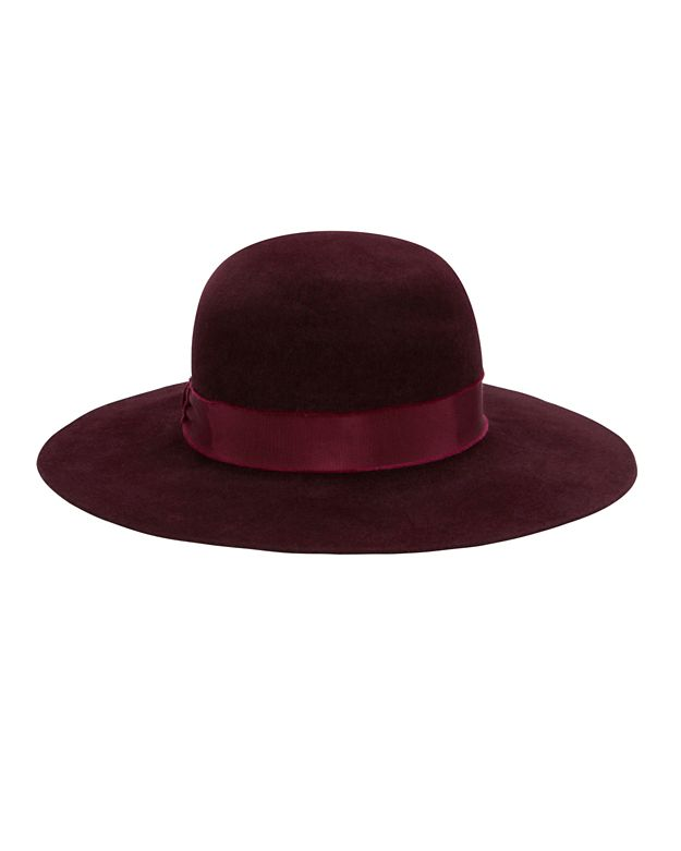 Hat Attack Velour Round Crown Hat
