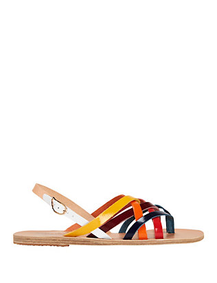 Ancient Greek Sandals Effie Colorblock Strap Sandal