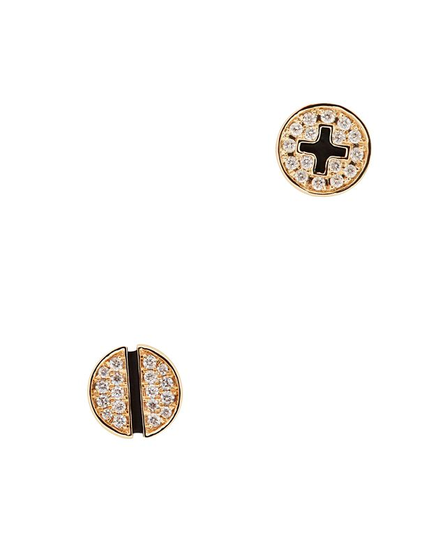 Sydney Evan Pavé Diamond Screw Stud Earrings
