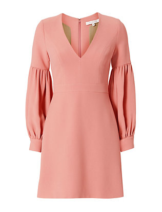 Alexis Ellena Blouson Sleeve Dress