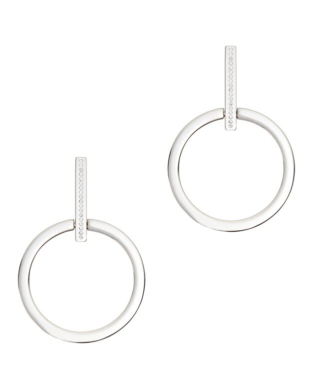 Vita Fede Antonia Crystal Hoop Earrings