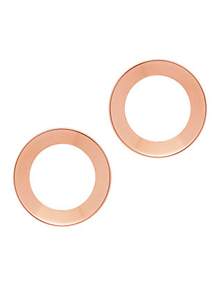 Cosimo Open Stud Circle Earrings