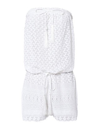 Everly Strapless Romper