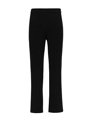 Theory Ponte Stretch Flare Crop Pant