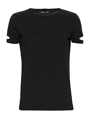 Helmut Lang Pocket Tee: Black