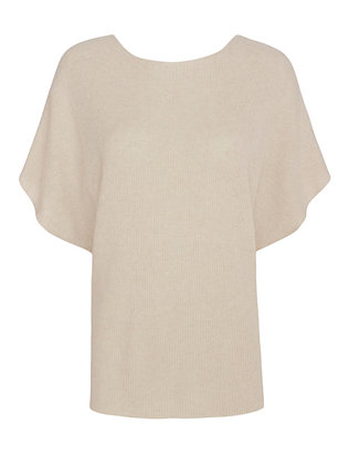 Helmut Lang Open V Back Sleeveless Sweater