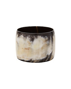 Nest Dark Horn Wide Bangle