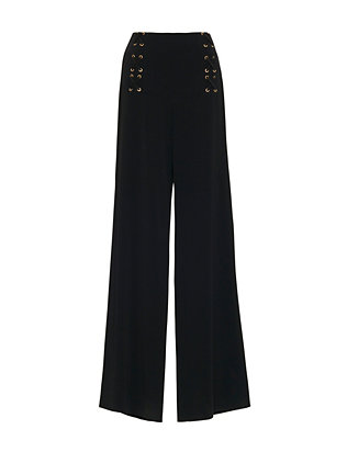 Derek Lam 10 Crosby EXCLUSIVE Wide-Leg Lace Up Pant