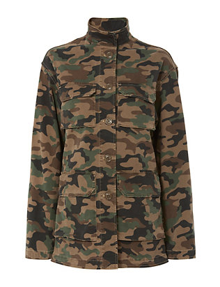 Nili Lotan Military Jacket/Shirt