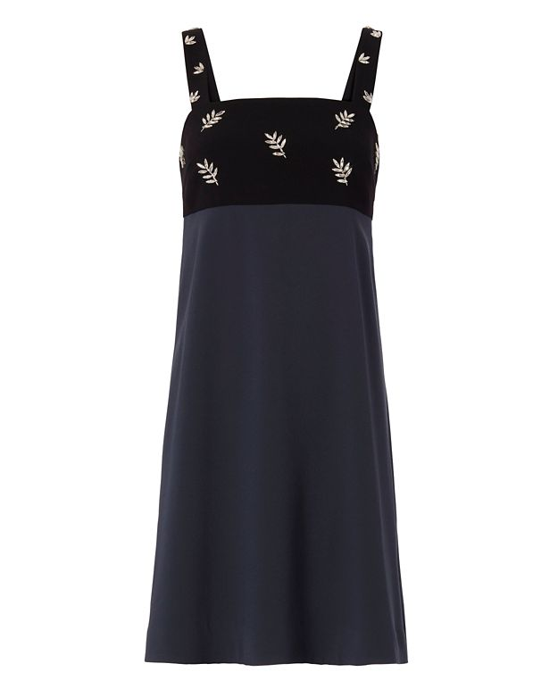 Tanya Taylor Mica Embellished Dress