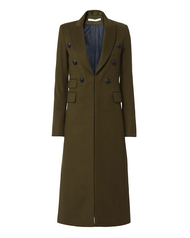 Veronica Beard Double Breasted Duster Coat