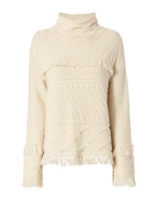 Demsey Fringe Sweater