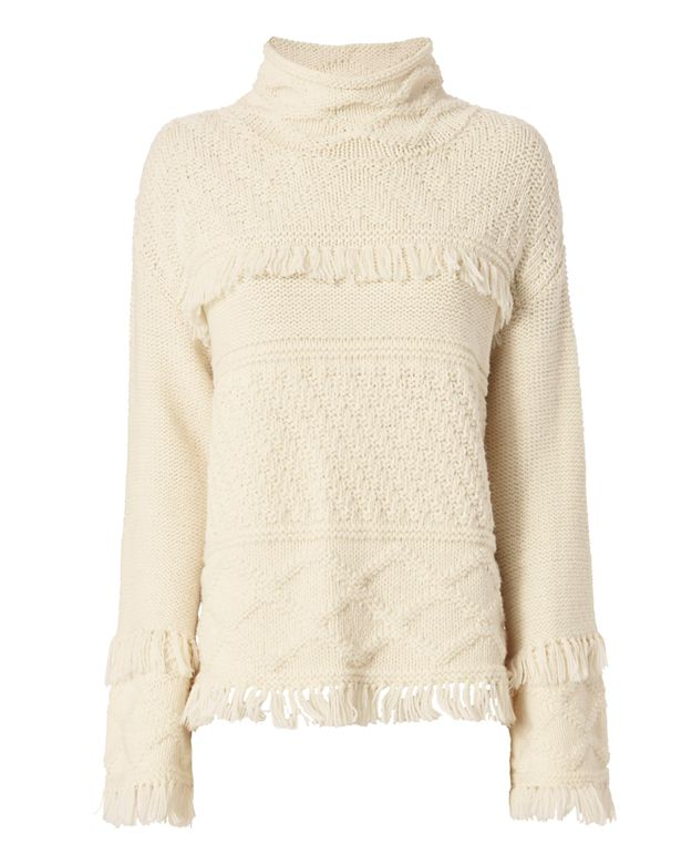 Line Demsey Fringe Sweater
