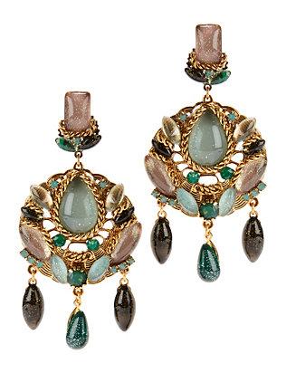 Sage Multi Circle Earrings