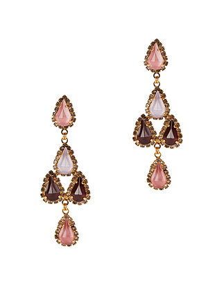 Duchess Earrings: Blush