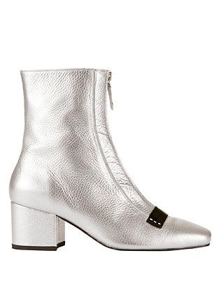 Delta Silver Booties