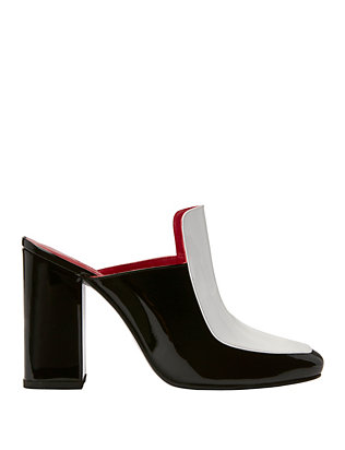 Munise Open Back Colorblock Pumps