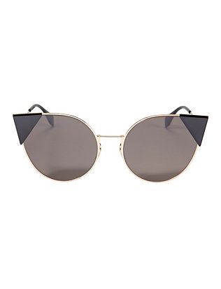 Fendi Flat Cat Eye Sunglasses