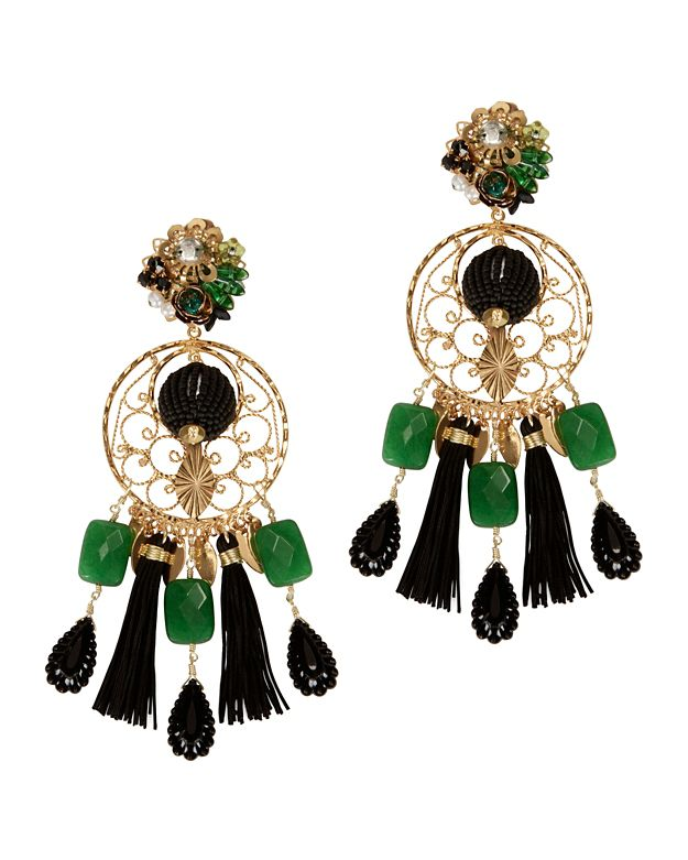 Mercedes Salazar Fiesta Chandelier Earrings
