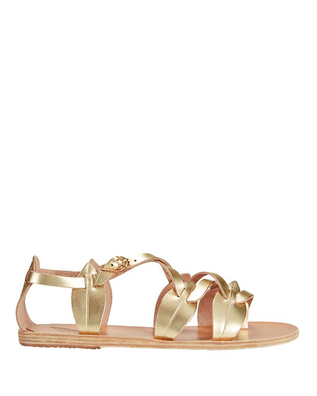 Ancient Greek Sandals Filareskia Sandal: Gold