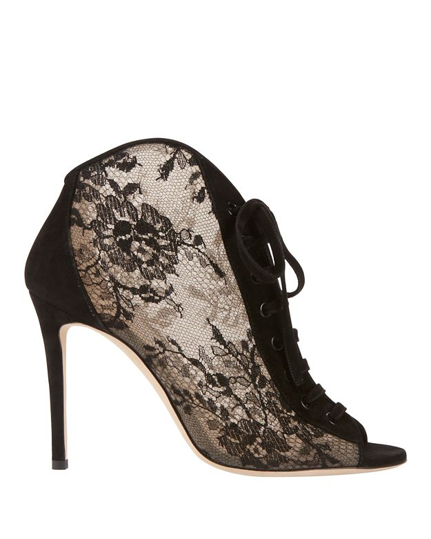Jimmy Choo Freya Lace Booties