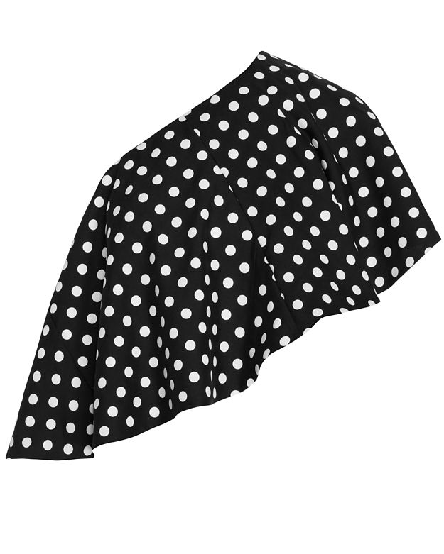 Viva Aviva Single Shoulder Polka Dot Top