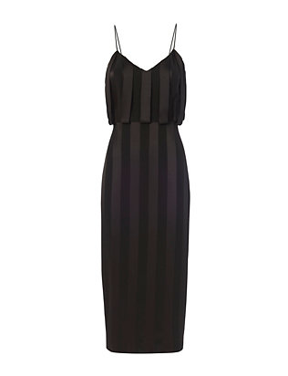Sadie Jacquard Stripe Dress