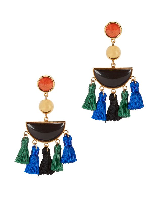 Lizzie Fortunato Fiesta Fringe Earrings