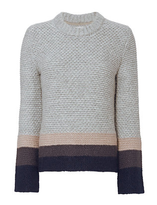Brochu Walker Ombré Cable Knit Sweater