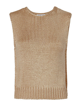Silk Knit Shell