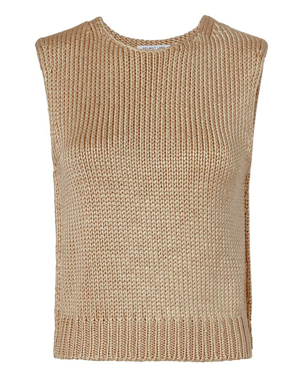 Helmut Lang Silk Knit Shell