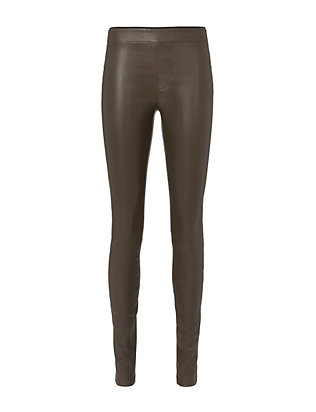Helmut Lang Marsh Leather Pants