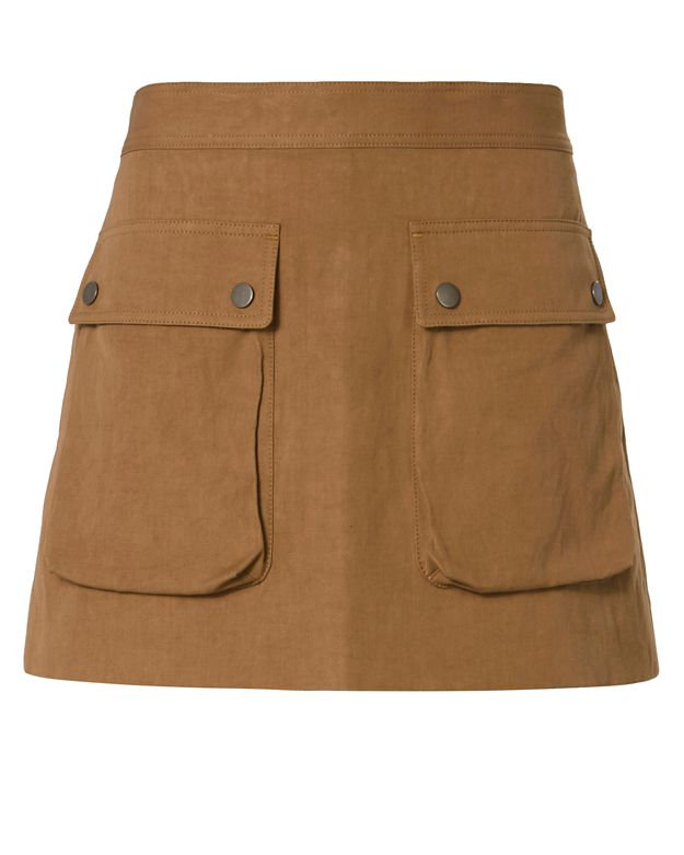Helmut Lang Patch Pocket Mini Skirt
