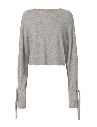 Sleeve Tie Sweater