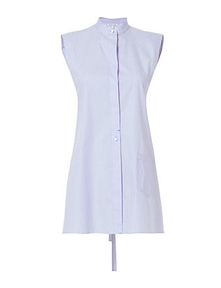 Apron Striped Oxford Shirt
