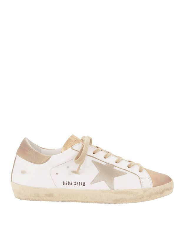 Golden Goose Superstar Gold Sneakers