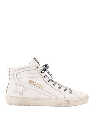 Golden Goose White Slide Sneakers