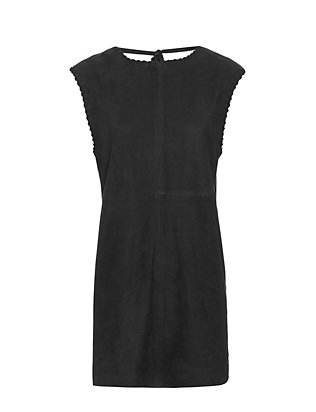 IRO Gamma Suede V Back Dress