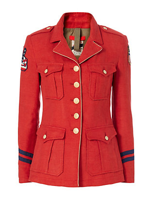 History Repeats Military Jacket