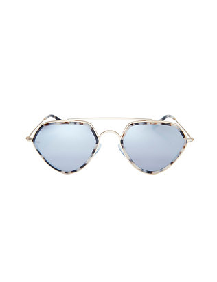 Geometric Eighties Sunglasses