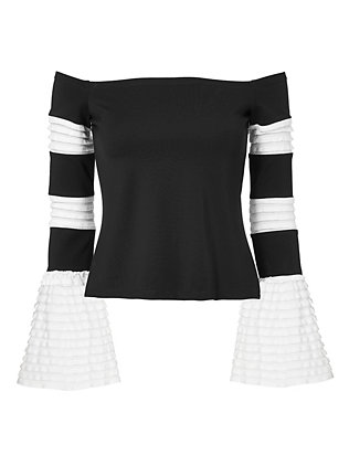 Alexis Gryffin Off-The-Shoulder Top