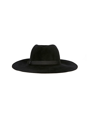 Hat Attack Luxury XL Glam Hat: Black