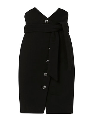 IRO Gwlady Button Front Tie Skirt