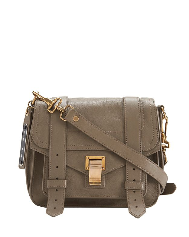 Proenza Schouler PS1 Crossbody Pouch: Grey