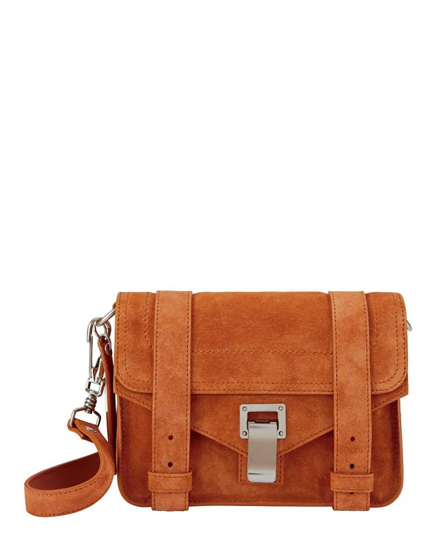 Proenza Schouler PS1 Mini Suede Crossbody